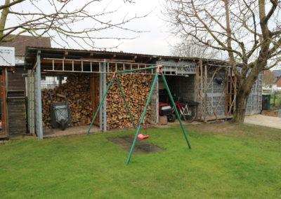 36-Garten - Holzlager