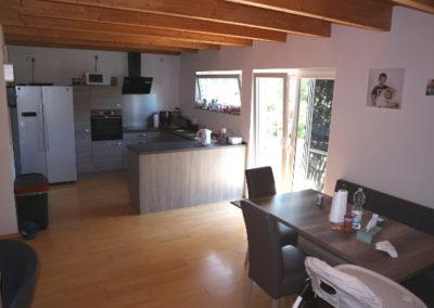04-Wohn- Esszimmer - offene Küche