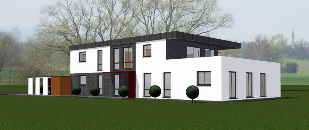 Kirchlengern – Neubau-Penthouse-Wohnung