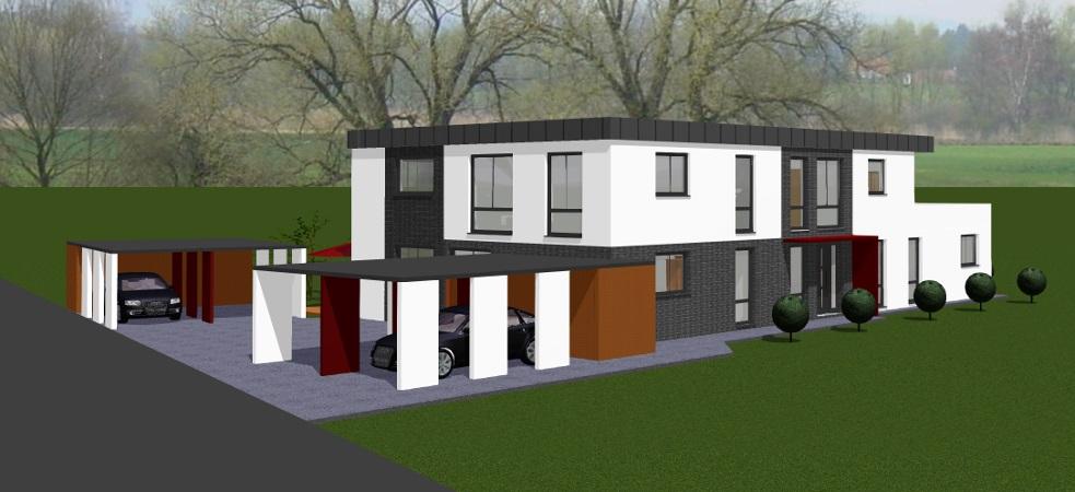 Kirchlengern – Neubau-Erdgeschoss-Eigentumswohnung