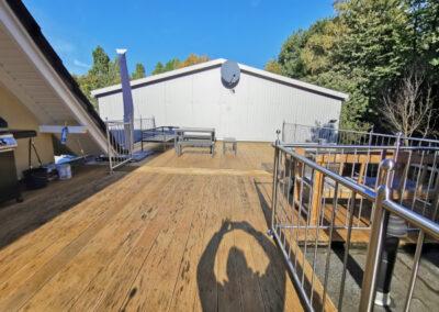11-Hausansicht - Terrasse - OG Wohnung
