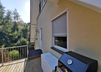 12-Hausansicht - Terrasse - OG Wohnung